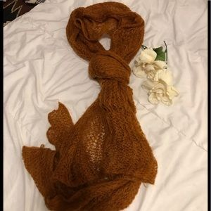 H&M open knit scarf